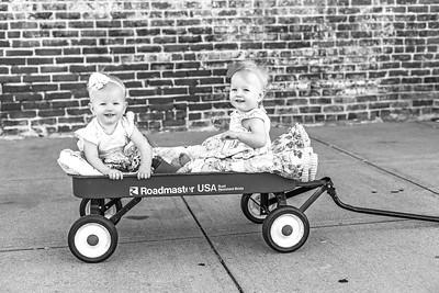 Elsie & Abby-30b&w