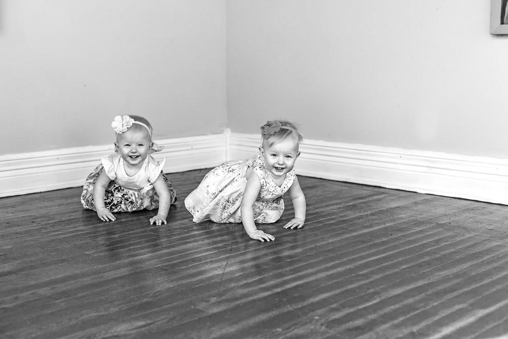 Elsie & Abby-14b&w
