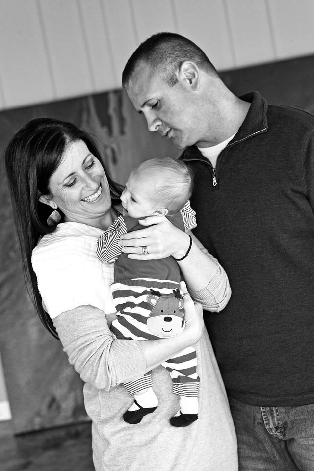 Katelyn 3 Months-29b&w