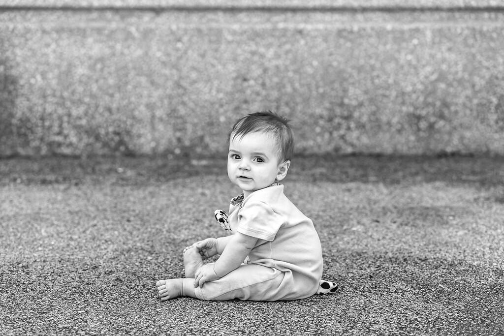 Elliot, 9 months-12b&w