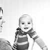 Elliot, 4 months-17b&w