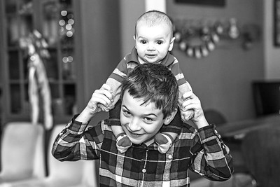 Elliot, 4 months-39b&w