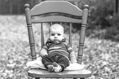 Elliot, 4 months-44b&w