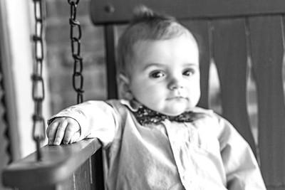 Elliot 7 months-15b&w