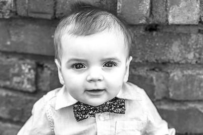 Elliot 7 months-3b&w