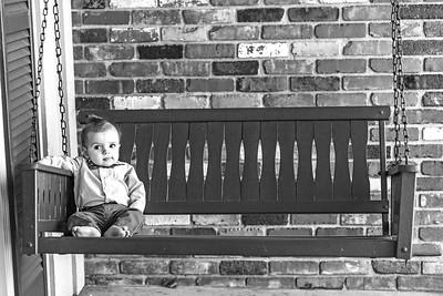 Elliot 7 months-6b&w