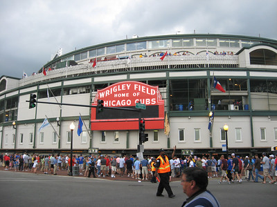 Wrigley Field July 20, 2010 Cubs 14 - Astros 7