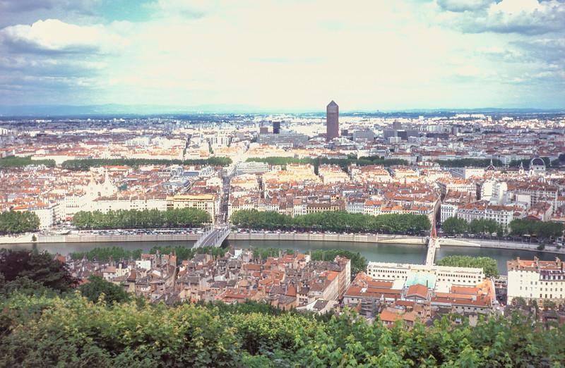 Panorámica de Lyon