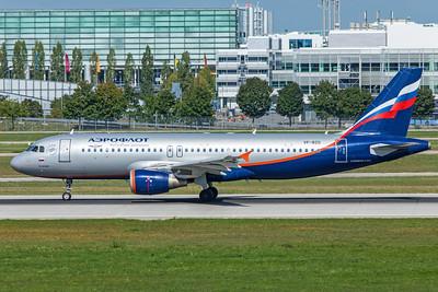 Aeroflot Airbus A320-214 VP-BZO 9-13-19