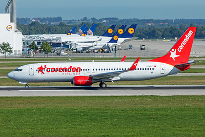 Corendon Airlines Boeing 737-8HC  TC-TJT 9-13-19