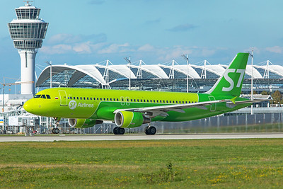 S7 - Siberia Airlines Airbus A320-214 VP-BCZ 9-12-19