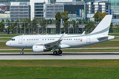 K5 Aviation Airbus A319-115(CJ) D-ALEX 9-13-19