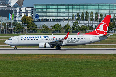 Turkish Airlines Boeing 737-8F2 TC-JGD 9-13-19