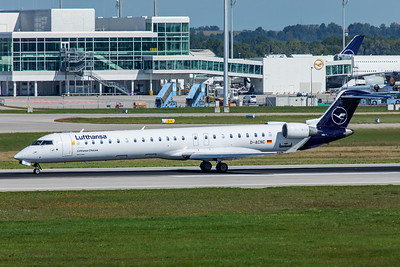 Lufthansa CityLine Bombardier CL-600-2D24 CRJ-900LR D-ACNC 9-13-19