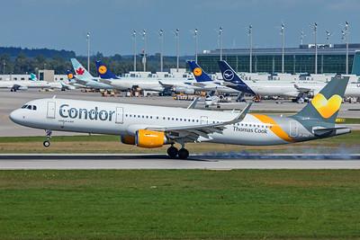 Condor Airbus A321-211 D-AIAC 9-13-19