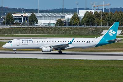 Air Dolomiti Embraer ERJ-190-200LR I-ADJO 9-13-19