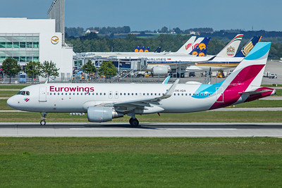 Eurowings Europe Airbus A320-214 OE-IQA 9-13-19