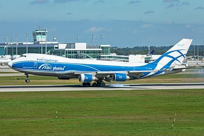 AirBridgeCargo Boeing 747-4HAF(ER) VP-BIM 9-13-19
