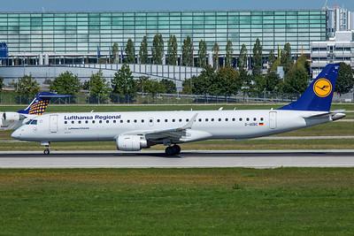 Lufthansa CityLine Embraer ERJ-190-200LR D-AEBC 9-13-19