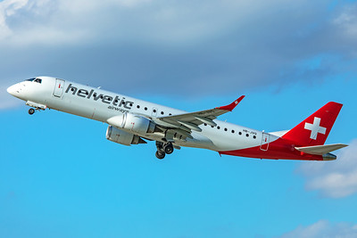 Helvetic Airways Embraer ERJ-190-100LR HB-JVQ 9-12-19