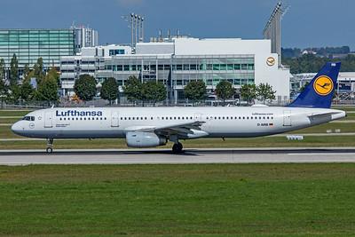 Lufthansa Airbus A321-131 D-AIRB 9-13-19