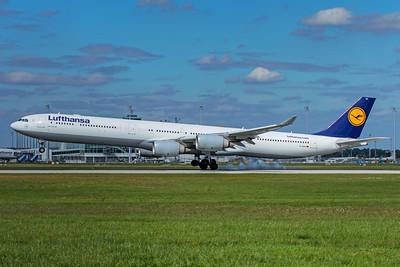 Lufthansa Airbus A340-642 D-AIHV 9-12-19