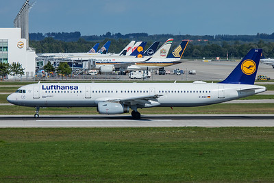 Lufthansa Airbus A321-231 D-AISC 9-13-19