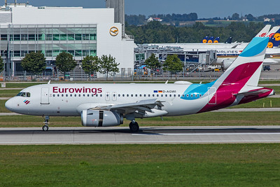 Eurowings Airbus A319-132 D-AGWI 9-13-19