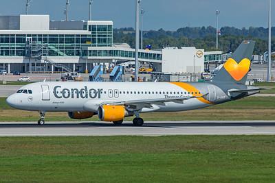 Condor Airbus A320-212 D-AICF 9-13-19 2