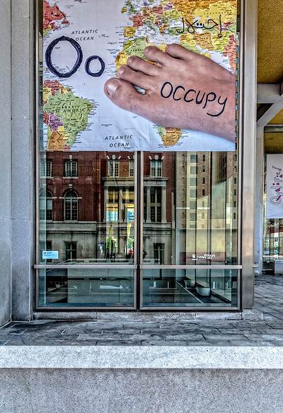Occupy, Foot, Map