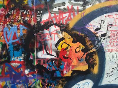 Mur  maison de  Serge  Gainsbourg