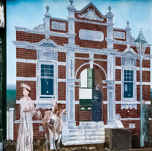Mural of the Strafford Post Office