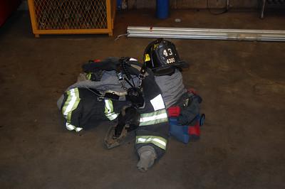 Engine 43 Firefighters gear