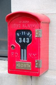 Alarm Box at the quarters of E-263 & TL-117