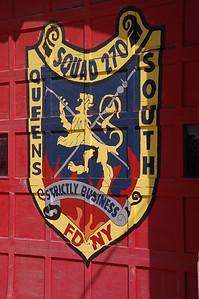 FDNY Squad 270's door