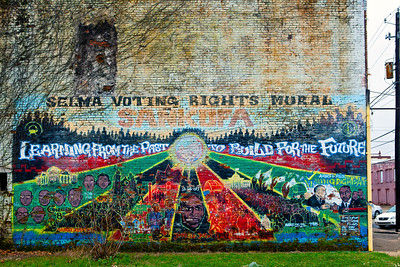 Selma Voting Rights Mural Selma AL_0487