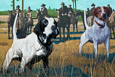 Bird Dogs Mural Union Springs AL_2781