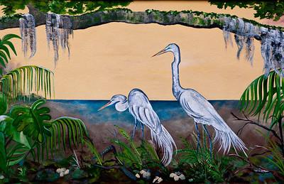 Mural The Corner Frame Olde Towne Daphne AL_8369