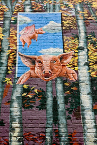 When Pigs Fly Mural Cincinnati OH_0216
