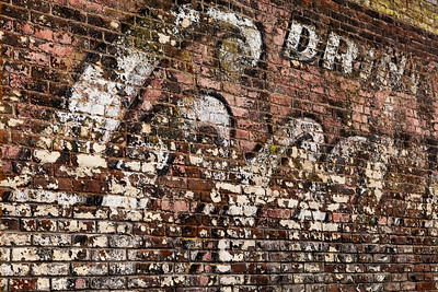 Drink Coke Faded Mural Greenville TX_3035