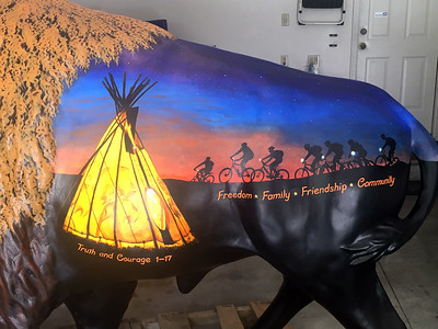 WTHI-TV - Indiana Bicentennial Bison Unveiling June 2017