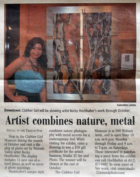 """<a href=""""http://tribstar.com/arts/x345564803/Artist-combines-nature-metal"""">http://tribstar.com/arts/x345564803/Artist-combines-nature-metal</a>"""