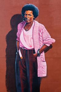 Indianapolis poet and artist Mari Evans