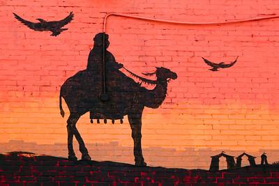 Mural Saffron Cafe Indianapolis IN_0134