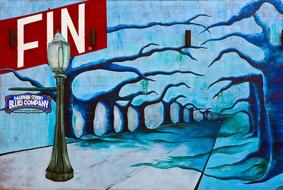 Mural Dauphin Street Blues Company Mobile AL_8247