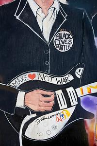 John Lennon Black Lives Matter Mural Mobile AL_2487