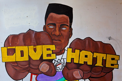 Love Hate Mural Mobile AL_2482