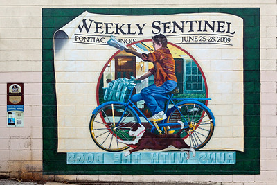 Weekly Sentinel Route 66 Mural Pontiac IL_4158