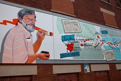 Mural Designed by Bob Waldmire Route 66 Icon & Artist Pontiac IL_4219