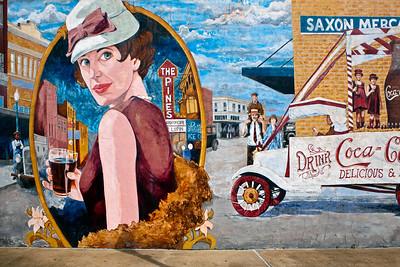 Coke Mural Saxon Mercantile Lufkin TX_1051